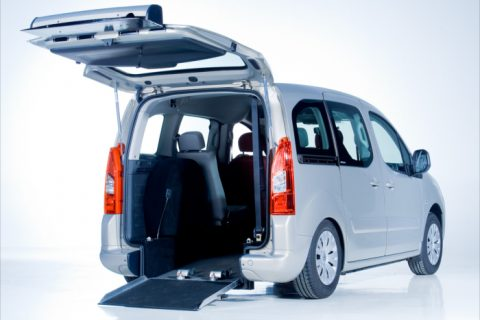 Berlingo interiour back