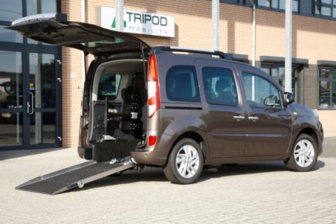 renault Kangoo back ramp open