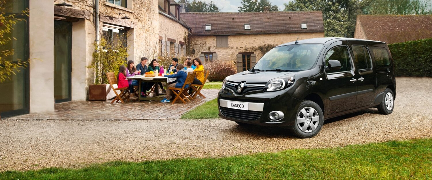 Renault Kangoo Maxi wheelchair accessible vehicle