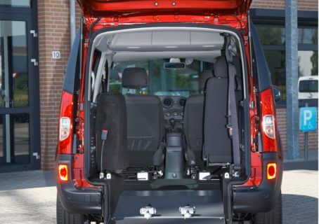 mercedes-benz citan L ramp open