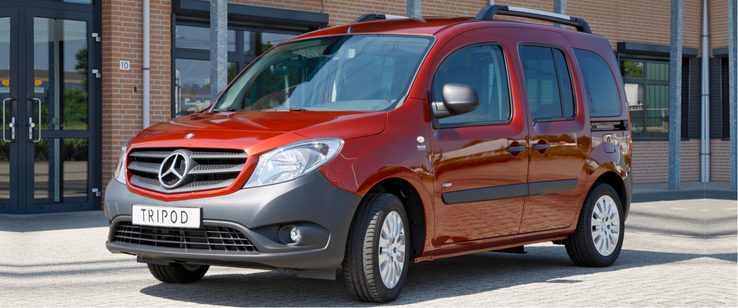 mercedes-benz citan L wheelchair accessible vehicle