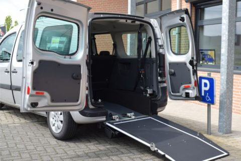 mercedes-benz citan xl ramp open