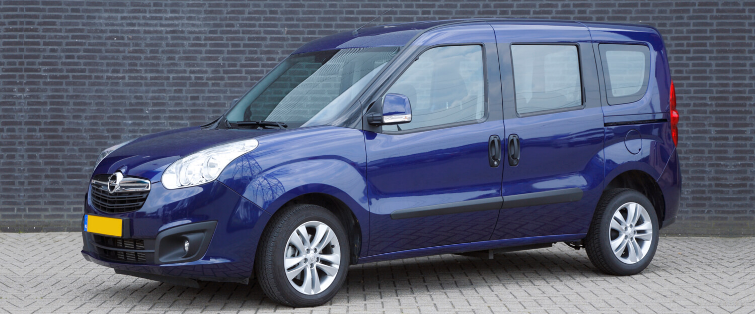 Opel Combo L1 wheelchair accessible vehicle