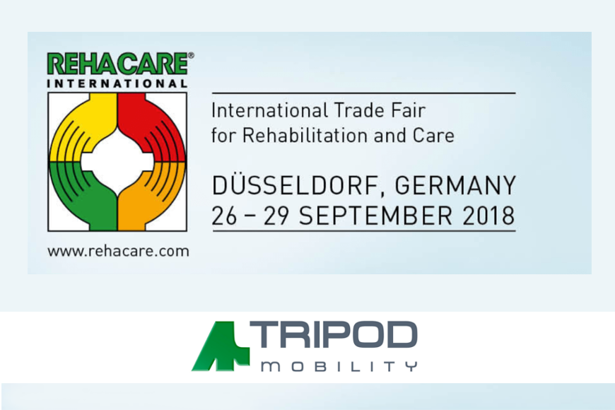 Meet us at Rehacare International 2018