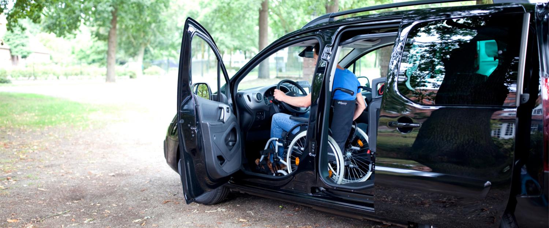 UpFront zelfstandig rijden in rolstoel