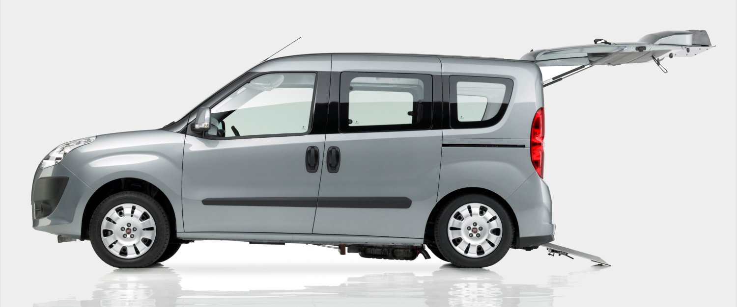 fiat doblo wheelchair accessible vehicle