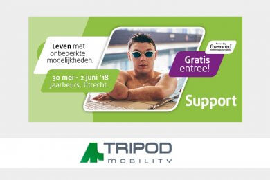 Tripod Mobility staat op Support 2018