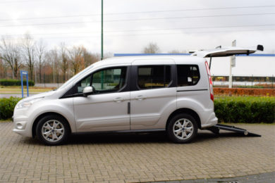 Adapted ream beam for Ford Grand Tourneo Connect