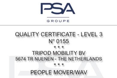 PSA Groupe certified!