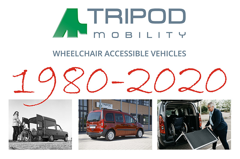 Tripod Mobility 40 years anniversary!