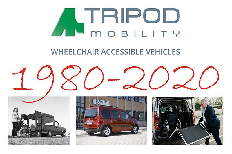 Tripod Mobility 40 jaar jubileum!