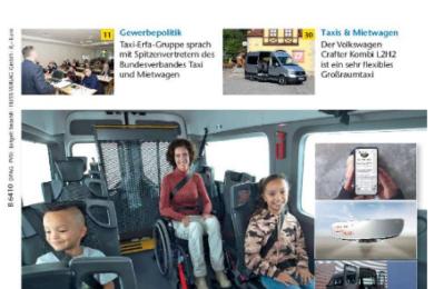 Taxi Heute nr. 11 over Tripod Mobilities Opel Zafira Life